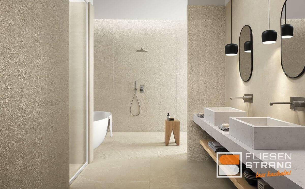Badezimmer Fliesen Strang